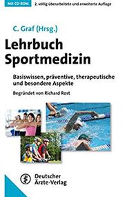 Buchcover Lehrbuch Sportmedizin