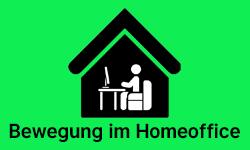Bewegung im Homeoffice