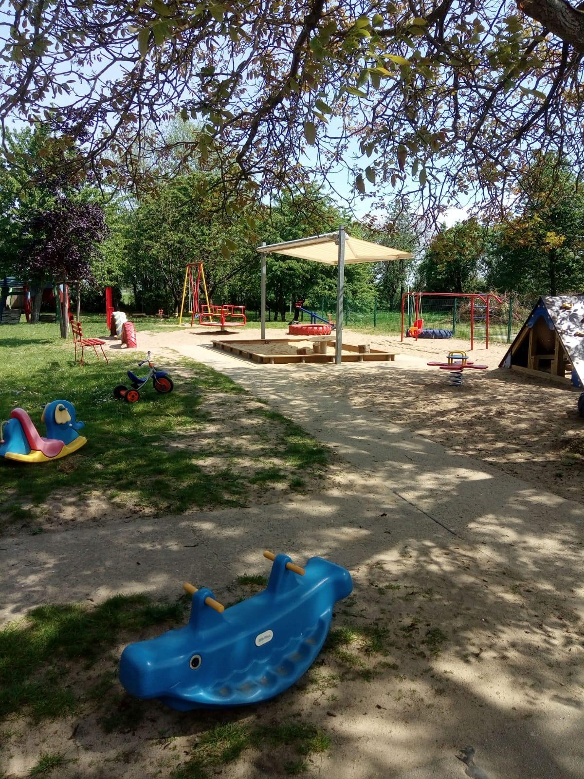 Spielplatz Kita Nebelin