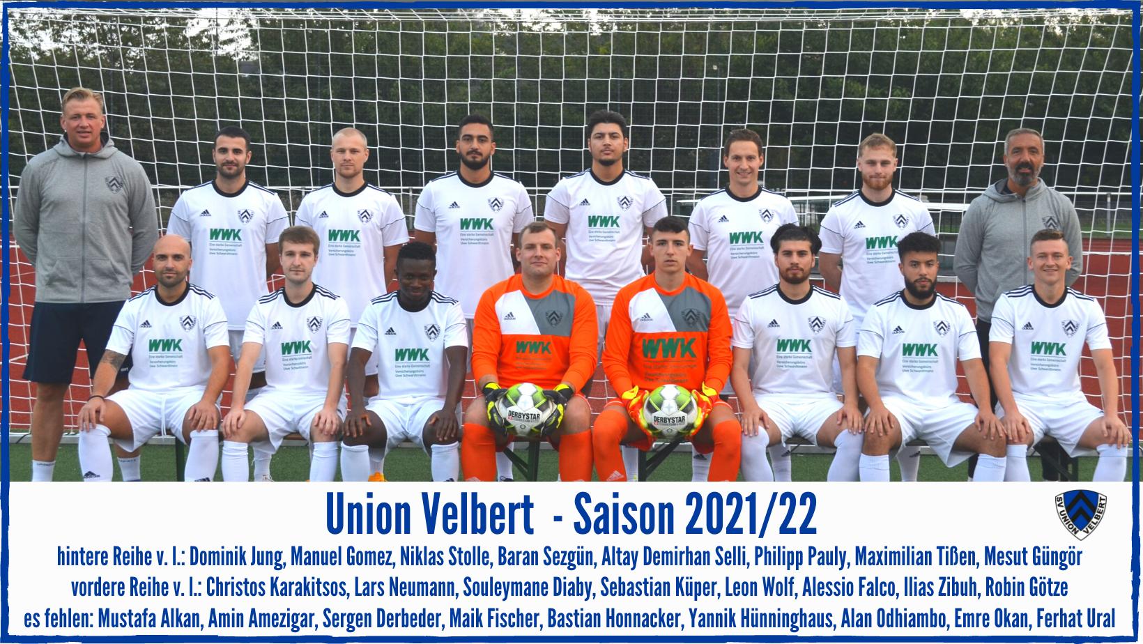 Union Velbert 1 -  21/22