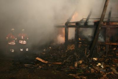 Scheunenbrand in Hachmühlen