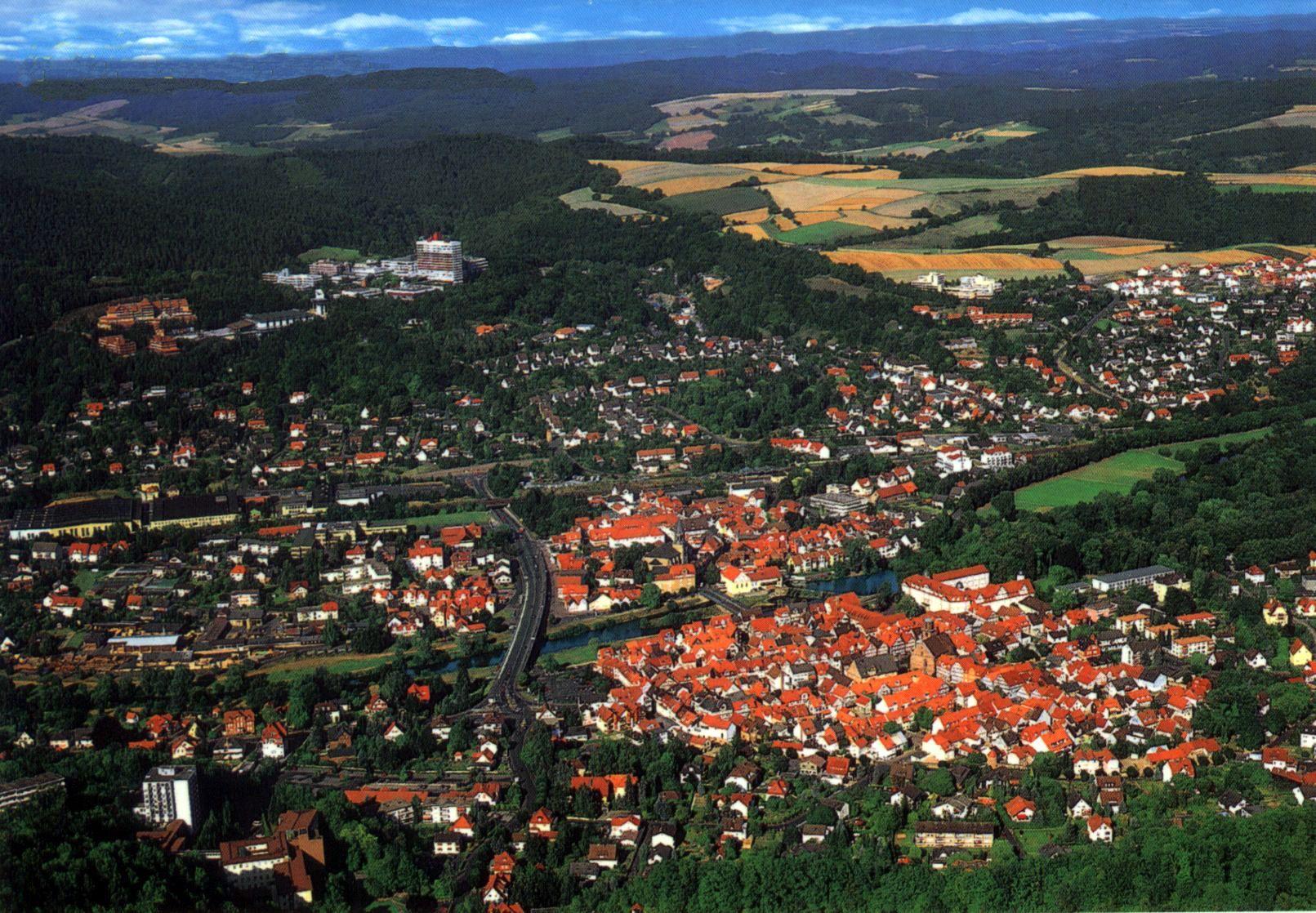 Rotenburg Fulda Luftbild