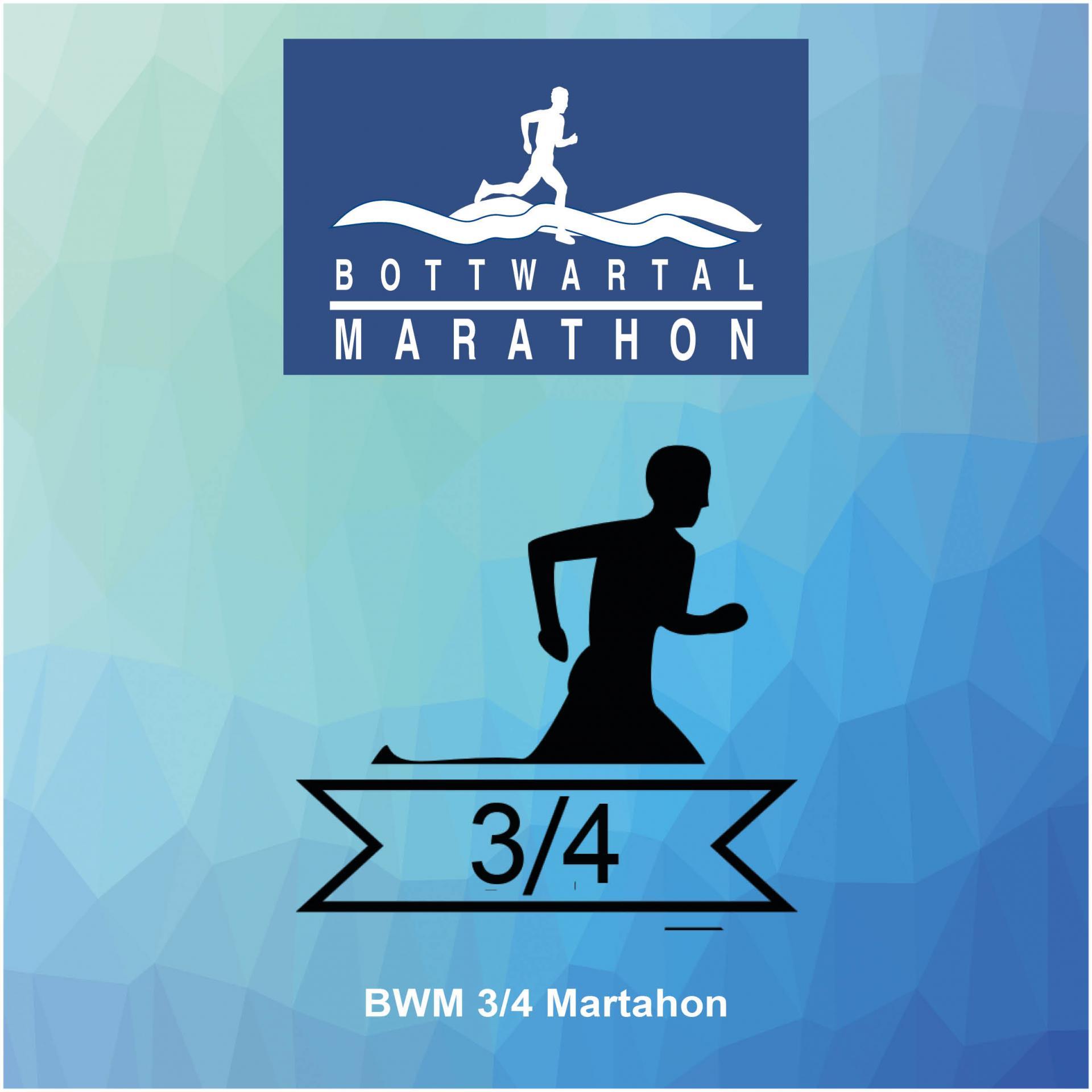 Button Anmeldung 3/4 Marathon