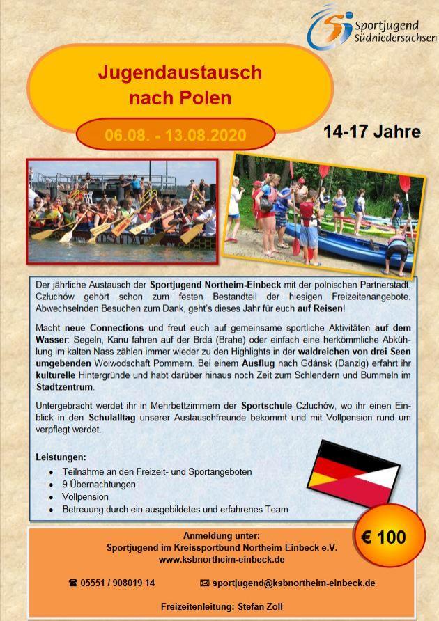 Jugendaustausch Polen