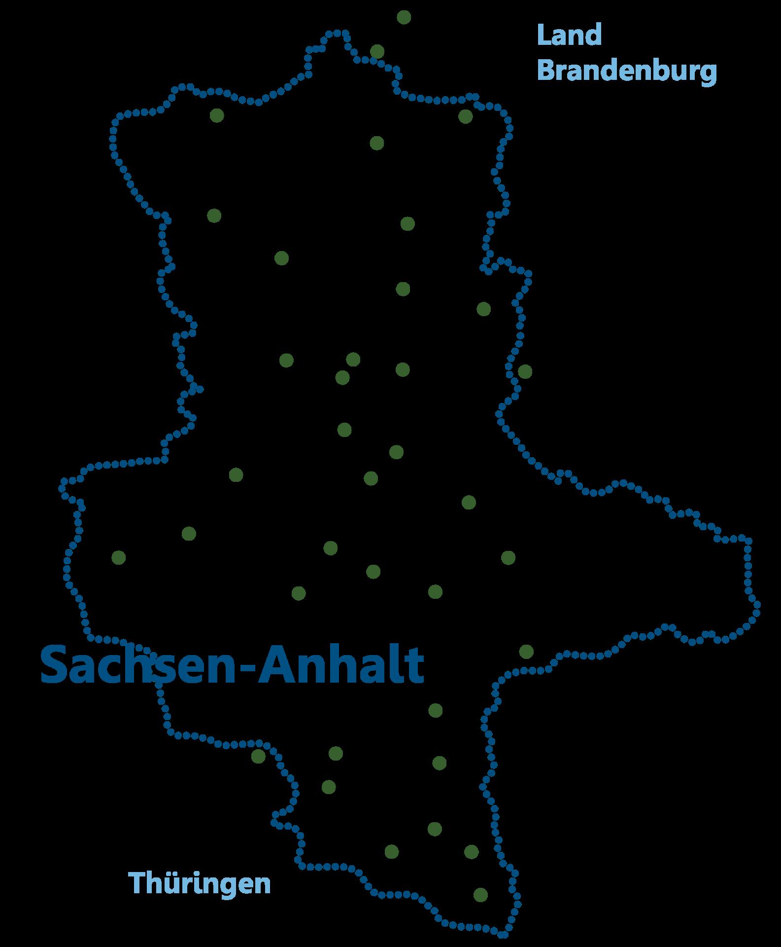 Karte LV Sachsen-Anhalt