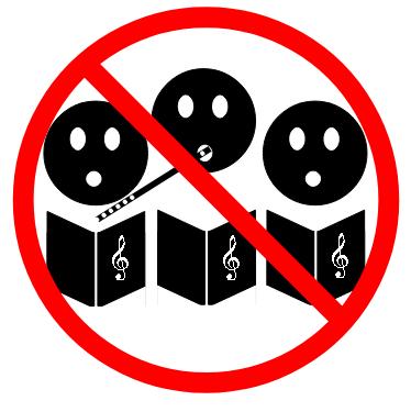 Chor verboten