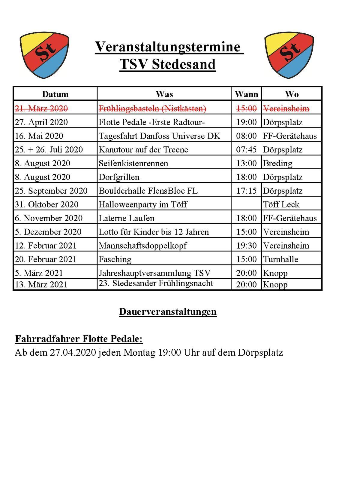 Veranstaltungen 20-21