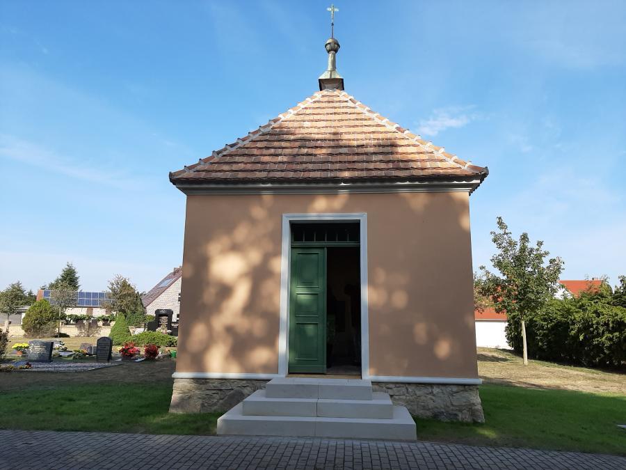 Friedhof Ratzdorf Foto: Besucherinformation Neuzelle