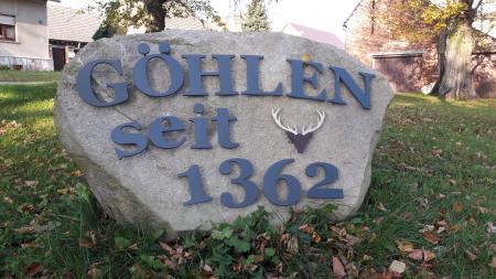 Göhlen Stein Foto: Besucherinformation Neuzelle