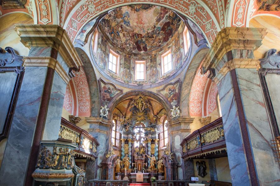 evangelische Kirche zum hl Kreuz Foto: Seenland Oder Spree/ Florian Läufer