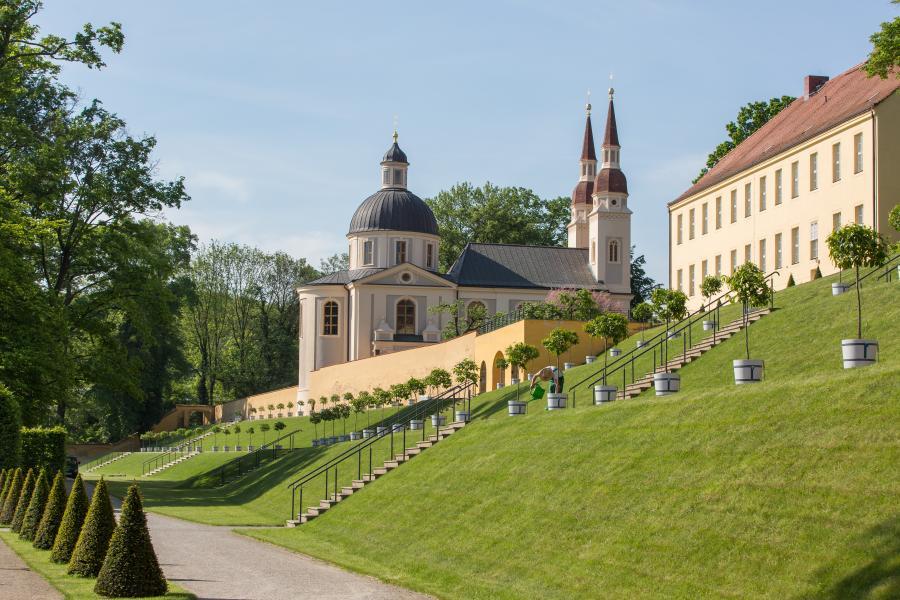 Evangelische Kirche zum Hl. Kreuz// Foto Seenland Oder-Spree-Florian Läufer
