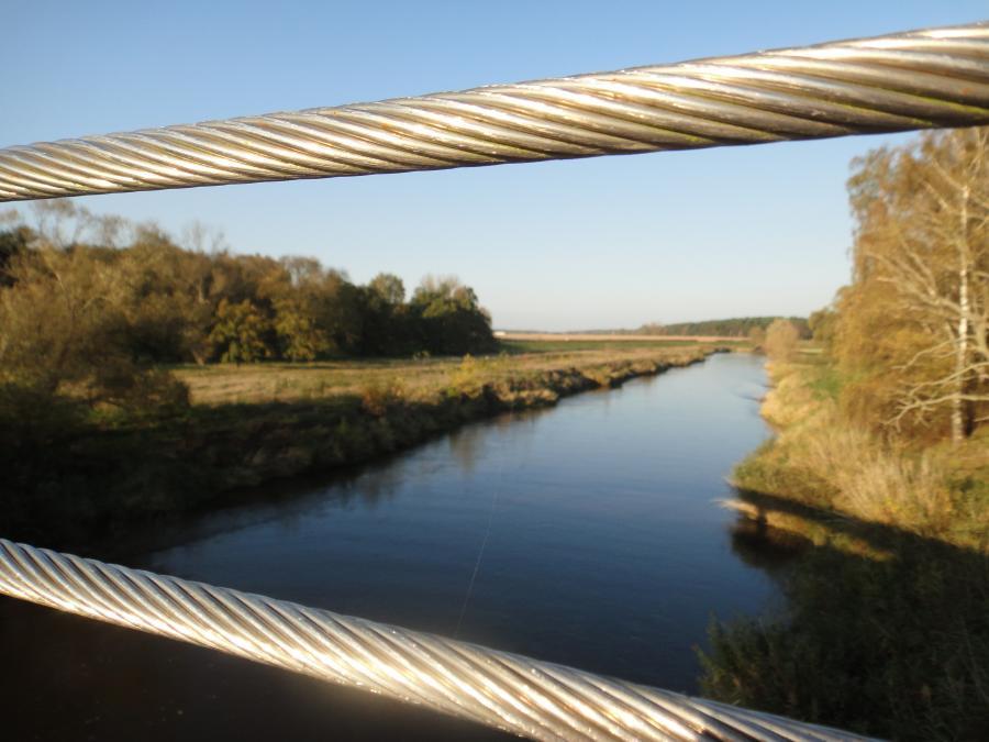 Brücke Neißewelle Foto: Besucherinformation Neuzelle
