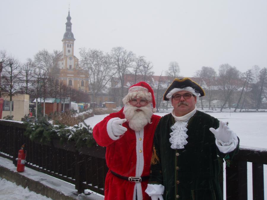 Weihnachtsmann Foto: Besucherinformation Neuzelle
