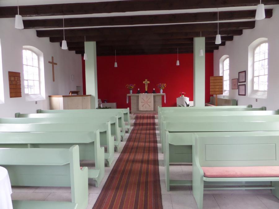 Radfahrerkirche Ratzdorf Foto: Besucherinformation Neuzelle