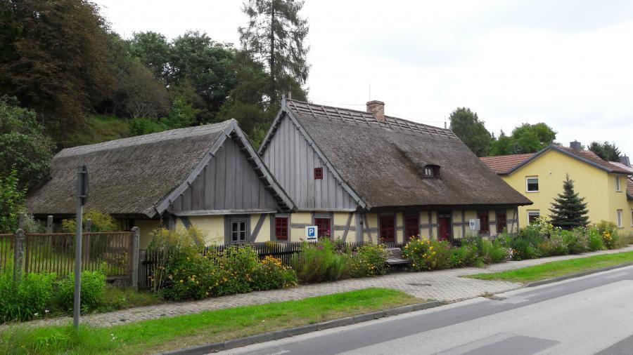 Strohhaus Foto: Besucherinformation Neuzelle