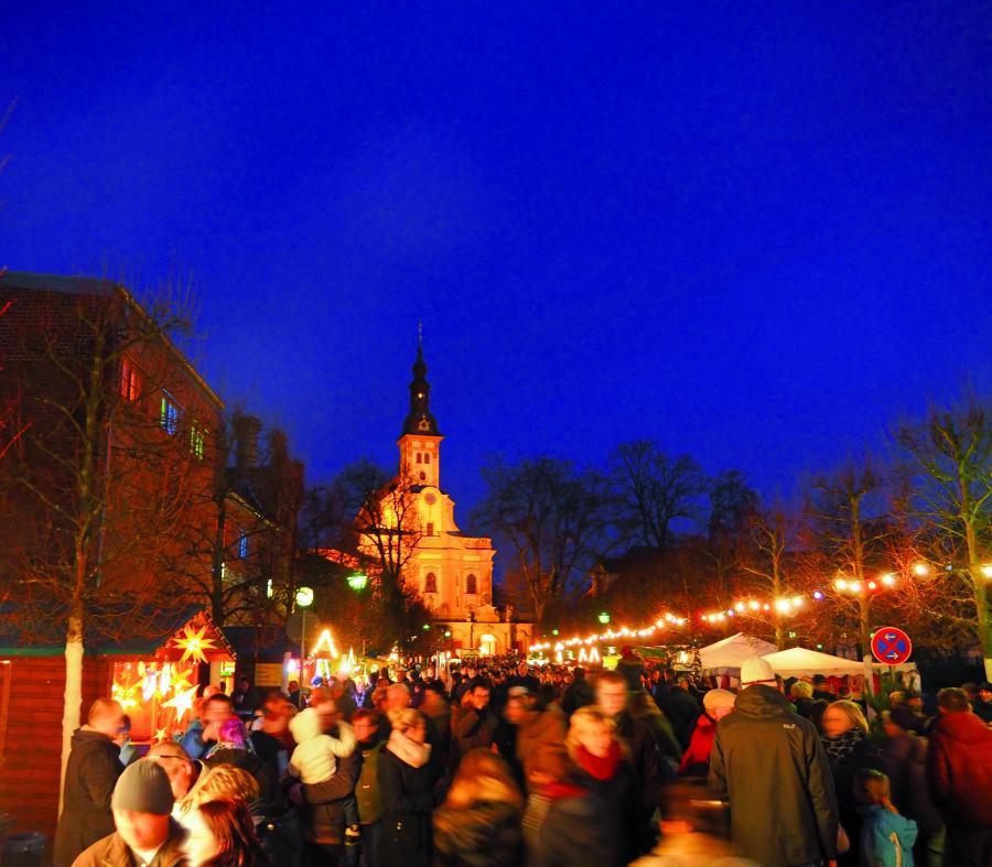 Neuzeller Märchenweihnachtsmarkt Foto: Dr. M. Salesch