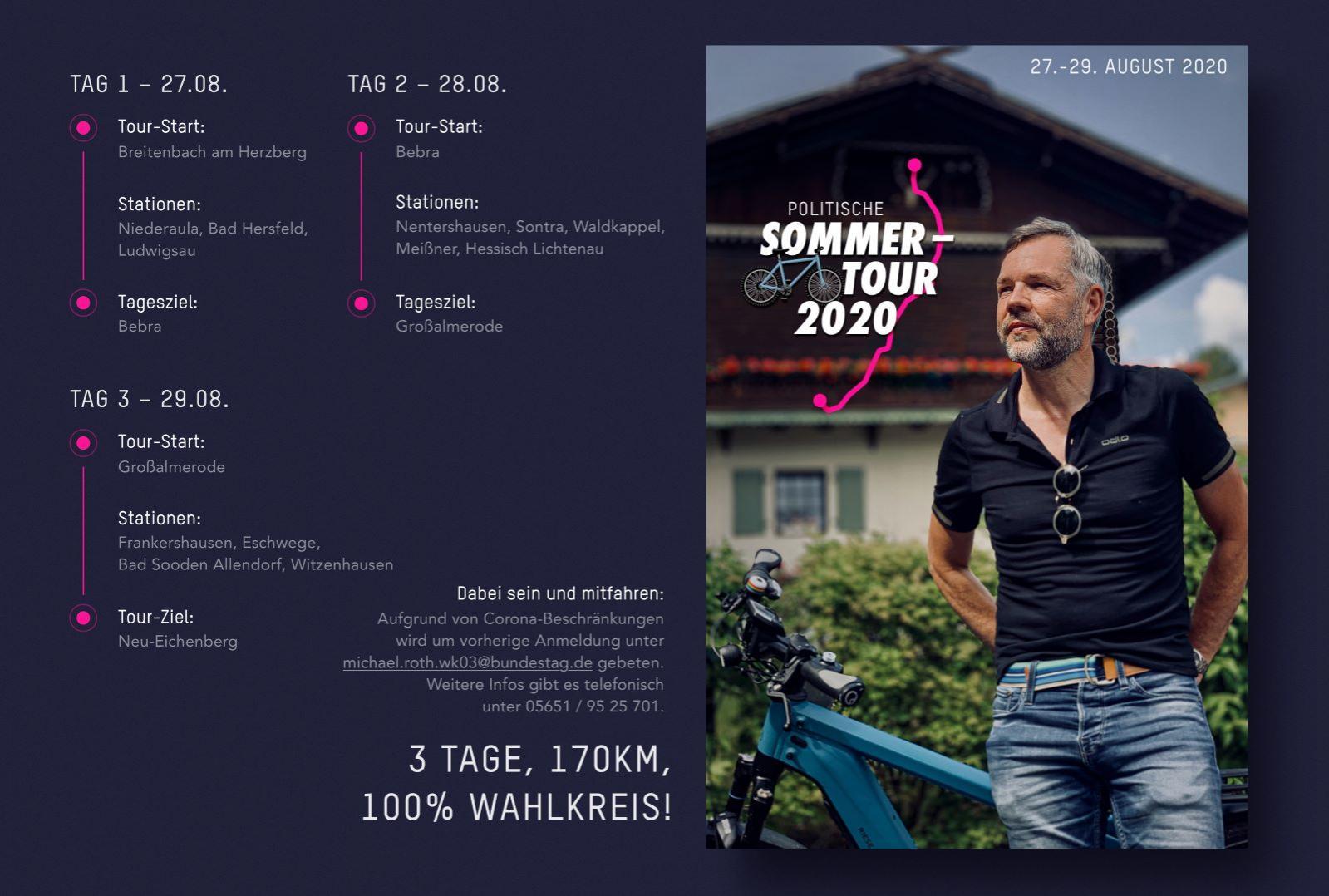 Michael Roth Sommertour 2020