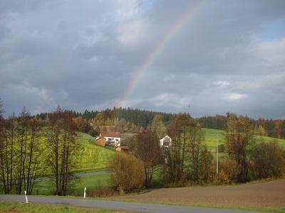 Regenbogen in Uttlau 003