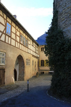 Innenhof Schloss Eisfeld