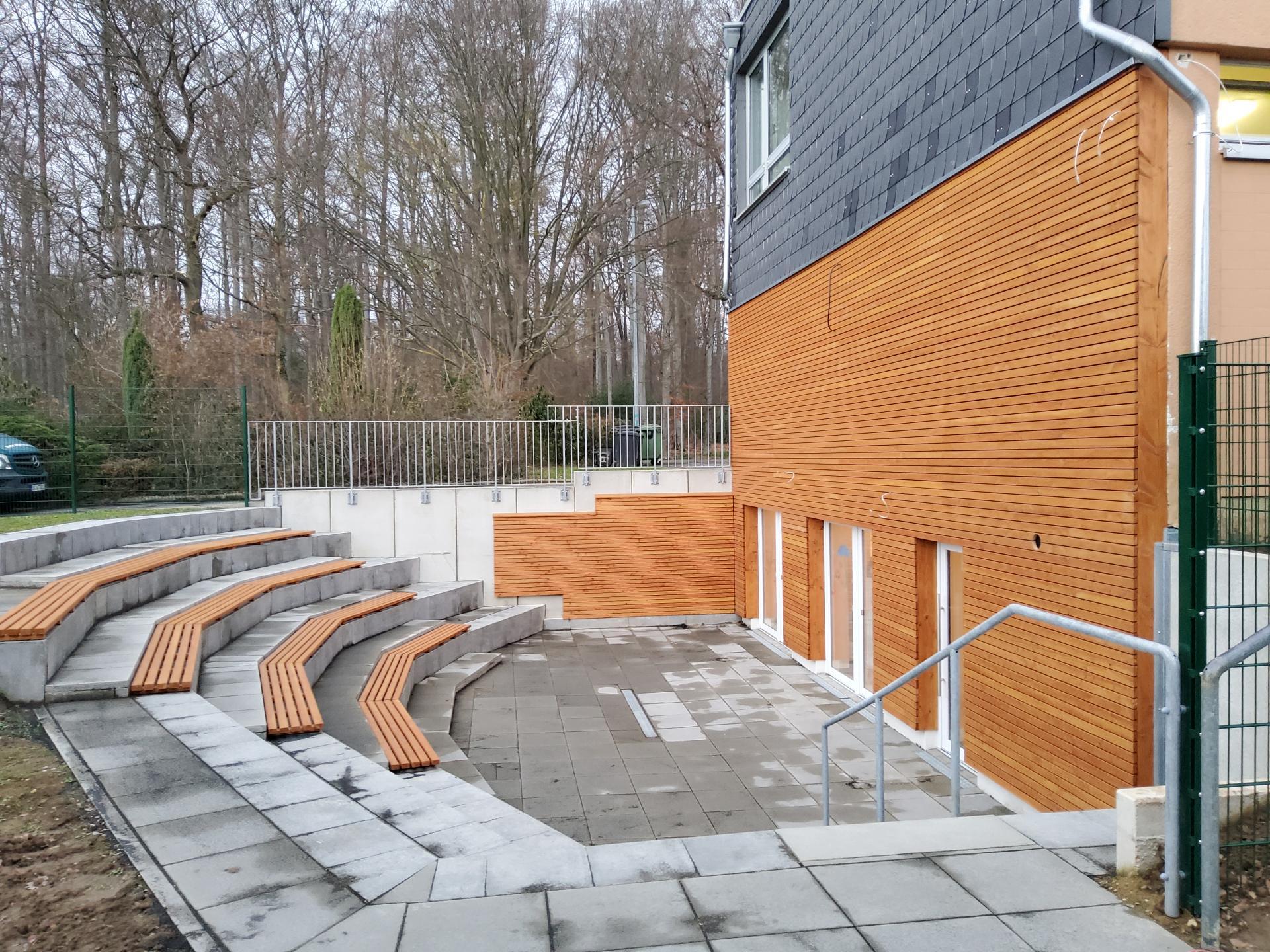 GS Adendorf-Fassade