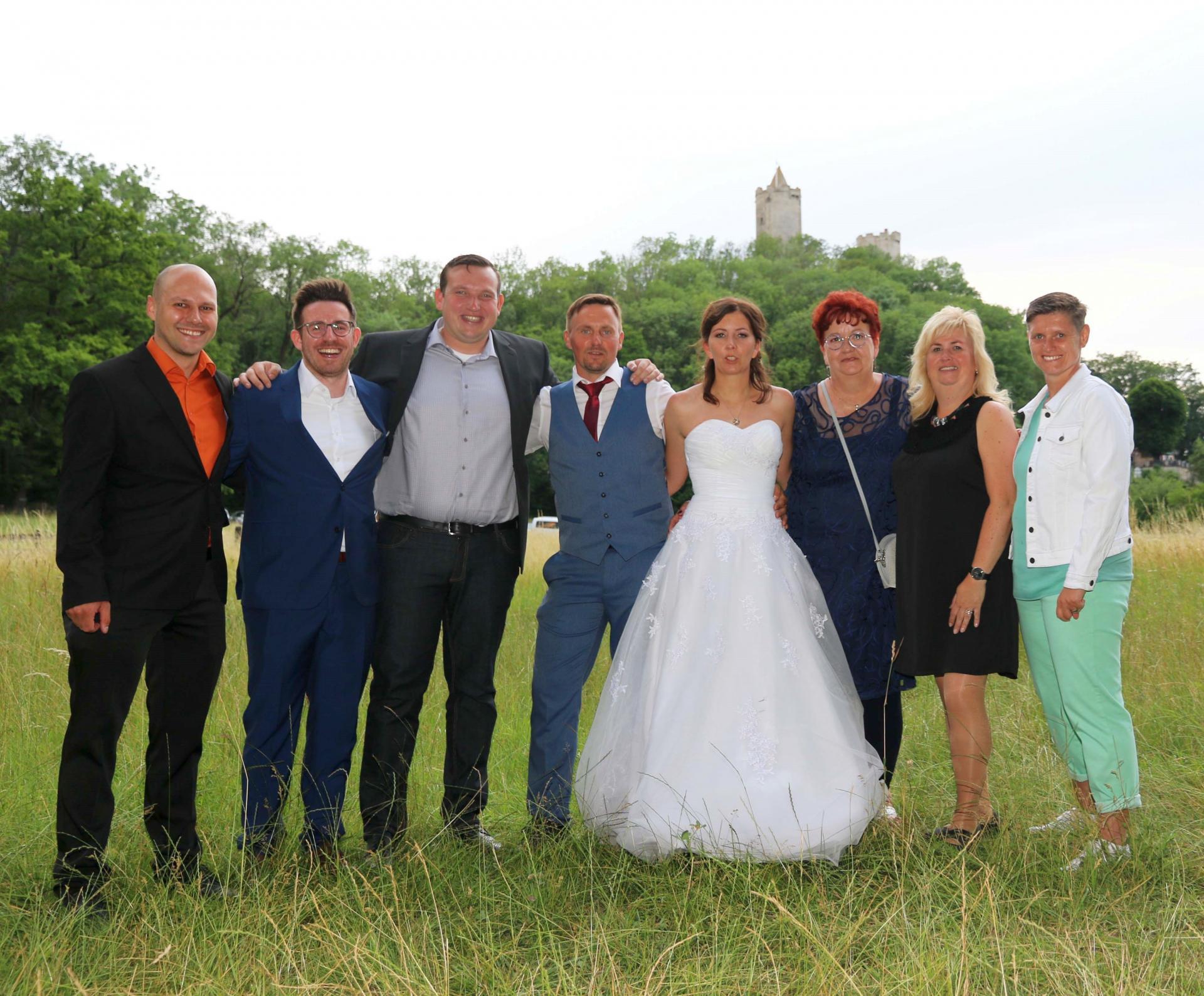 KFV-Hochzeitsgäste