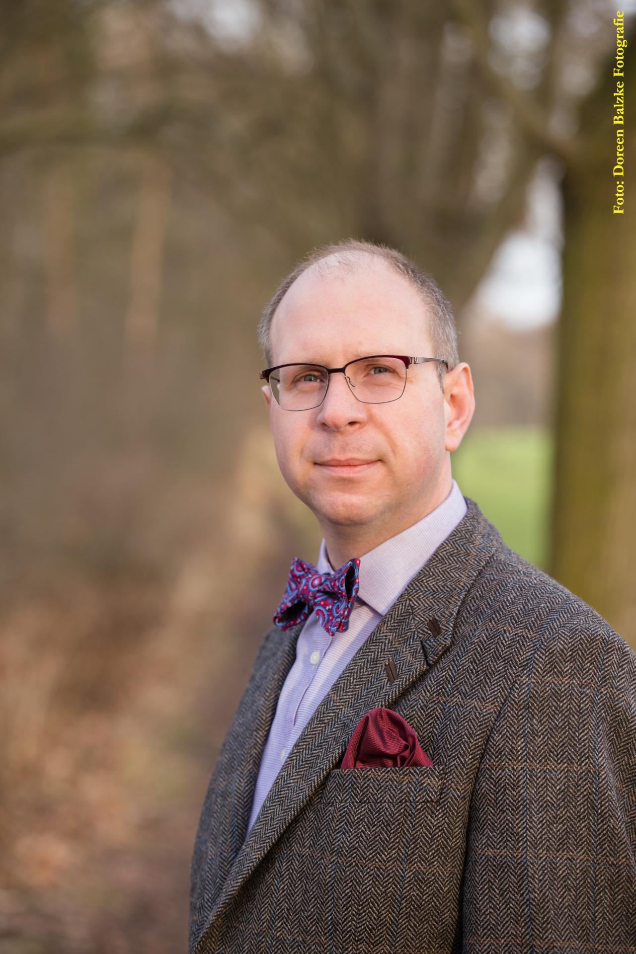 Ulrich Georgi, Gemeinschaftsvorsitzender der Verwaltungsgemeinschaft Gramme-Vippach