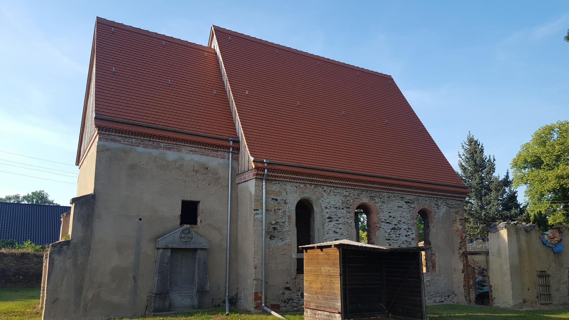 Kirche Canitz - bald geht es weiter