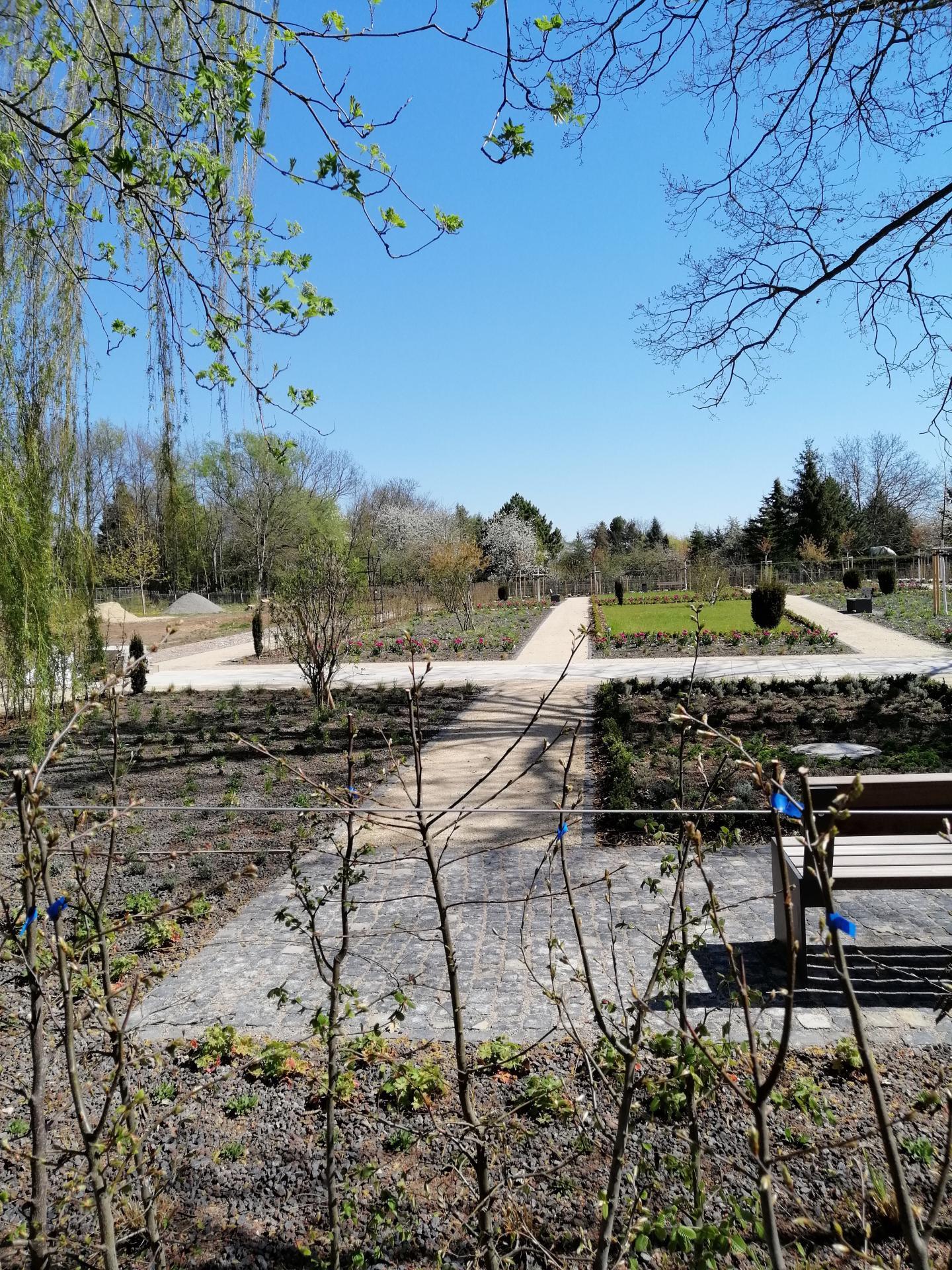 neu angelegter Teil des Kurparks im 1. Bauabschnitt