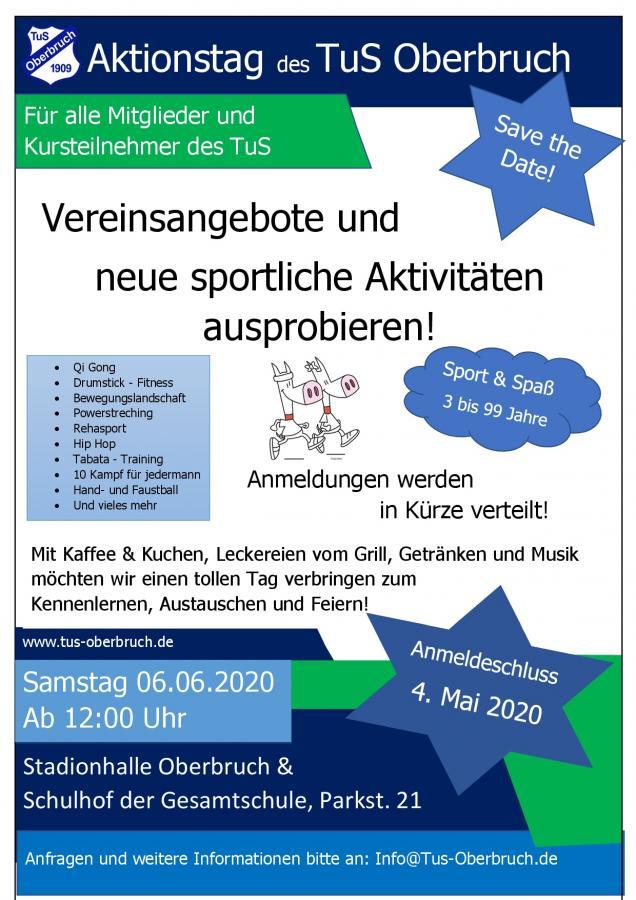 Plakat Aktionstag