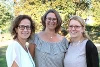Frau Vogel, Frau Kleinschmidt und Frau Robjeschek (von links)