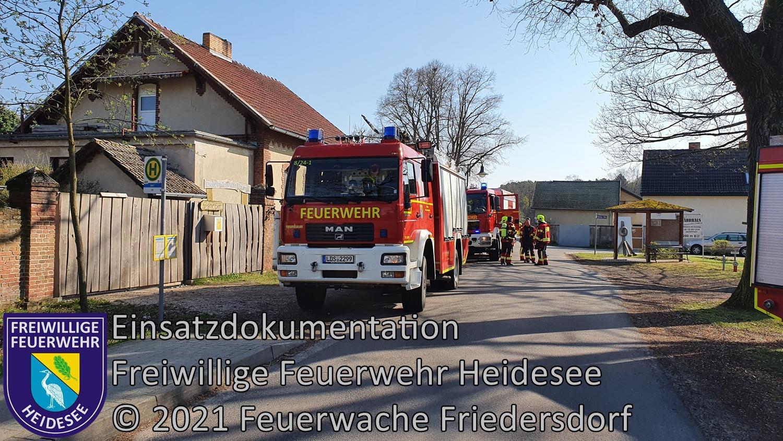 Einsatz 41/2021 | Ausgelöster Rauchmelder | Dolgenbrodt An der Dorfaue | 21.04.2021
