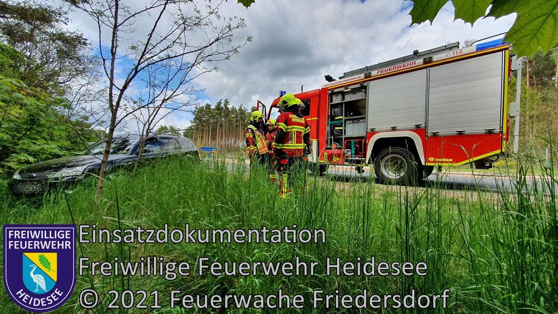 Einsatz 52/2021 | VU PKW - PKW | L39 OV AS Friedersdorf - Wenzlow | 22.05.2021
