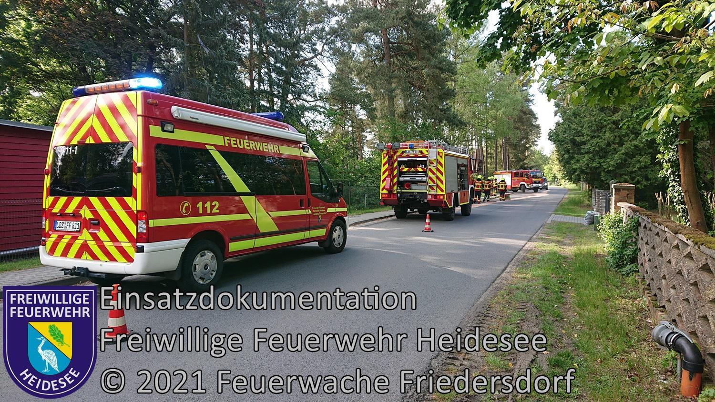 Einsatz 55/2021 | 50m Ölspur | Bindow Ernst-Thälmann-Straße | 26.05.2021