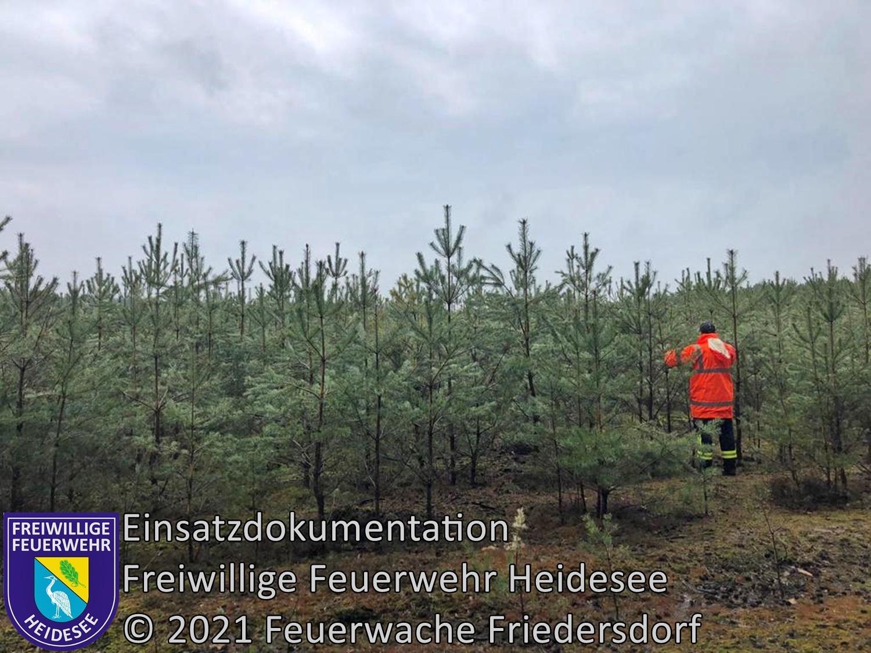 Einsatz 44/2021 | Fallwildsuche | Lieberose Lieberoser Heide | 29.04.2021