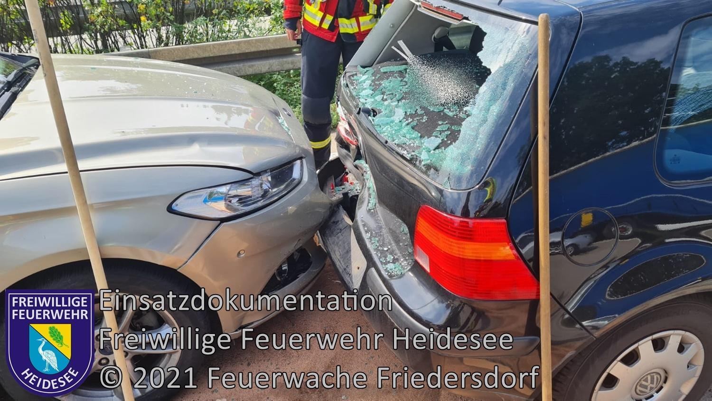 Einsatz 78/2021 | VU 3x PKW | BAB 10 AD Spreeau - AS Niederlehme | 12.07.2021