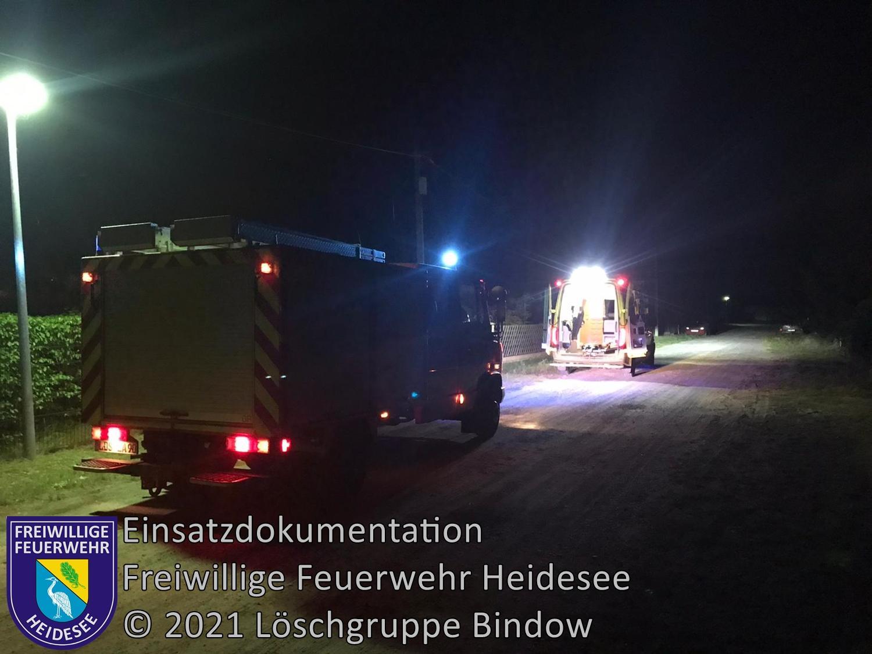 Einsatz 104/2021 | Tragehilfe | Bindow Finkenstieg | 12.08.2021