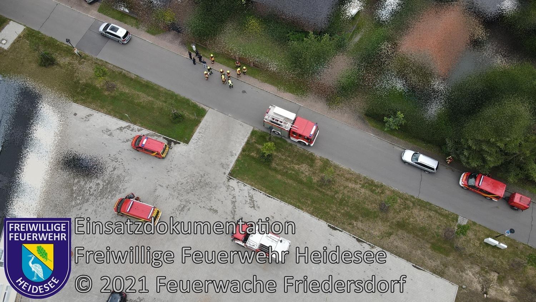 Einsatz 113/2021 | Gasgeruch in Wohnhaus | Prieros An der Dahmebrücke | 28.08.2021