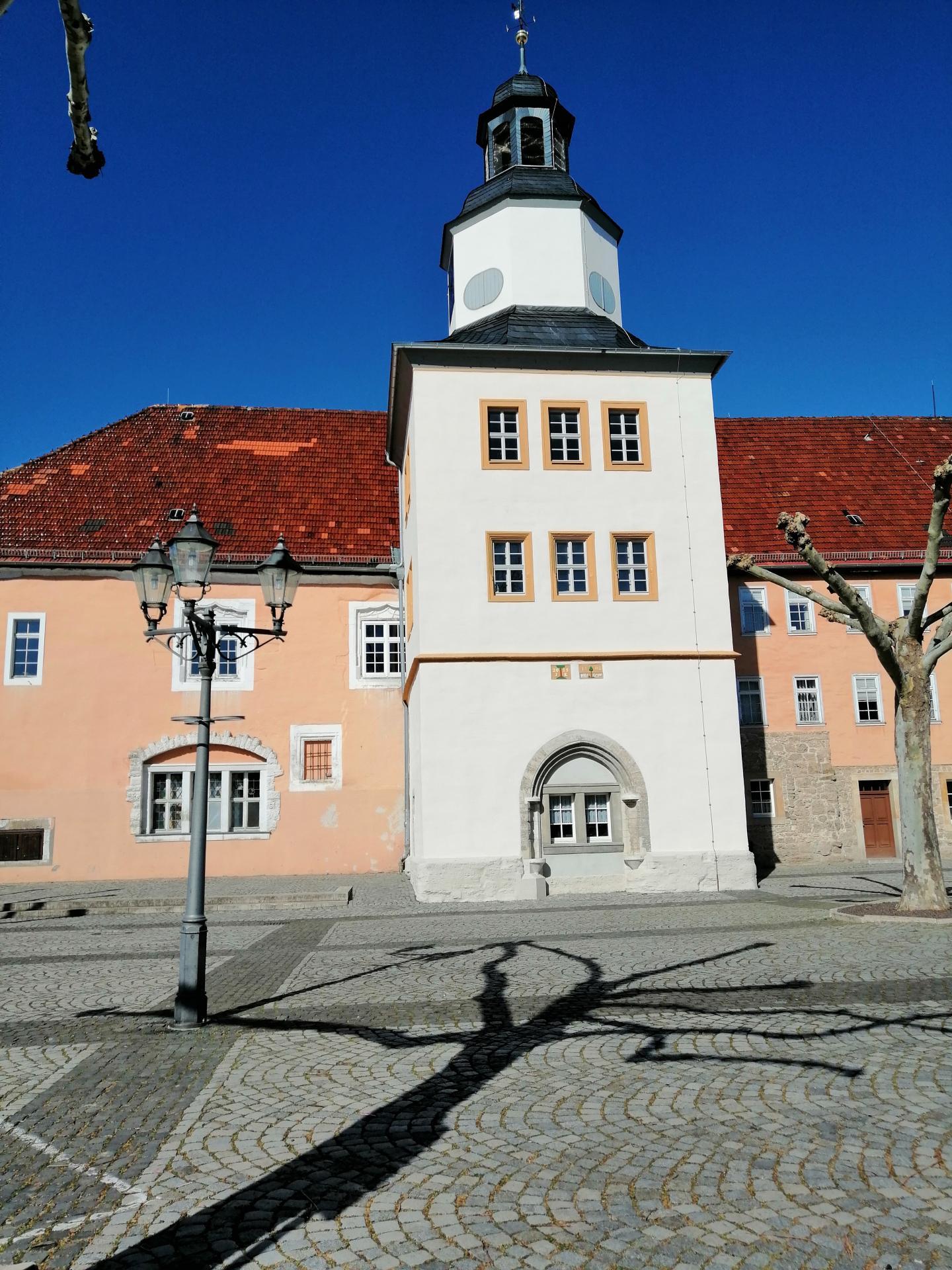 Rathausturm mit Urkundensteinen