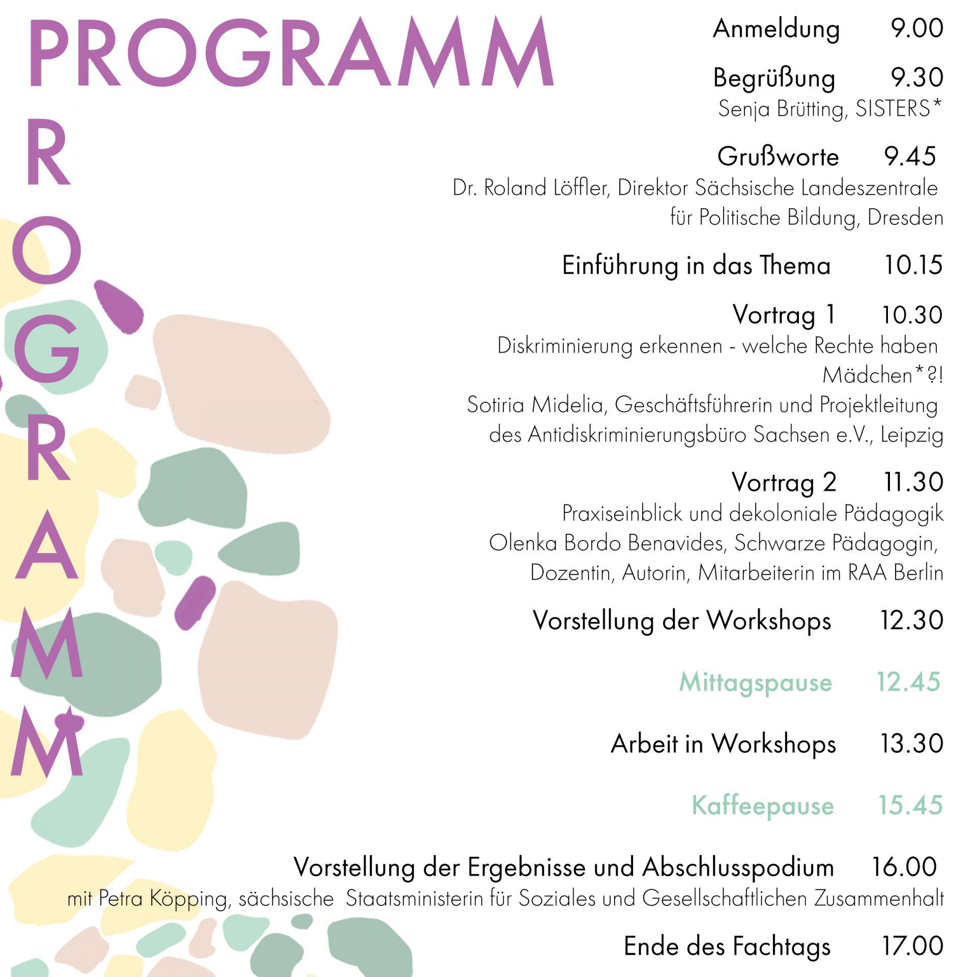 Fachtagsprogramm