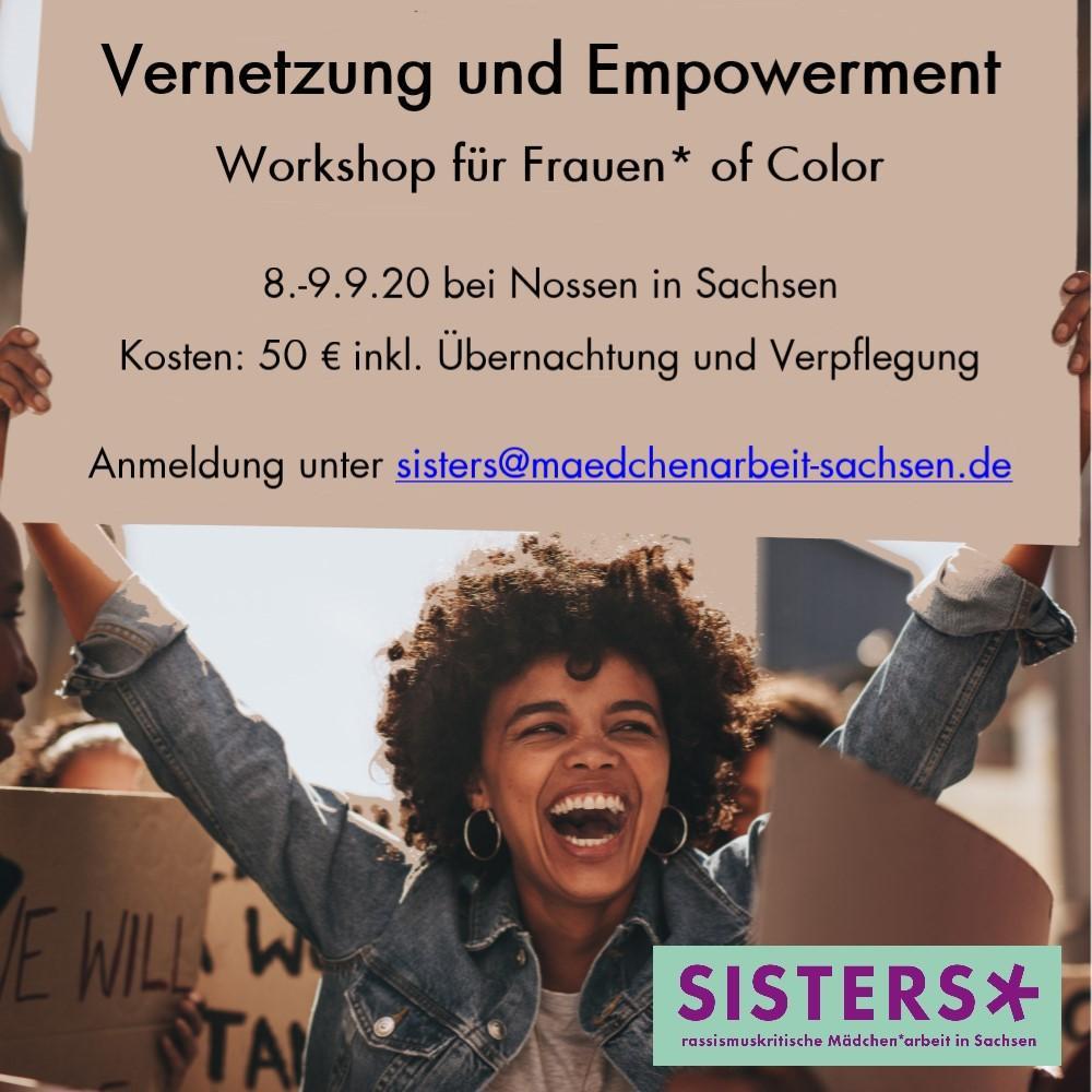 Empowermenttreffen für Frauen* of Color