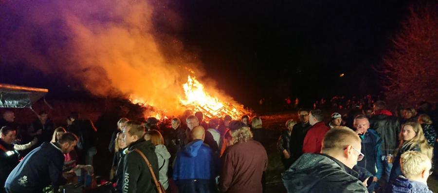 Kartoffelfeuer in Unseburg 2