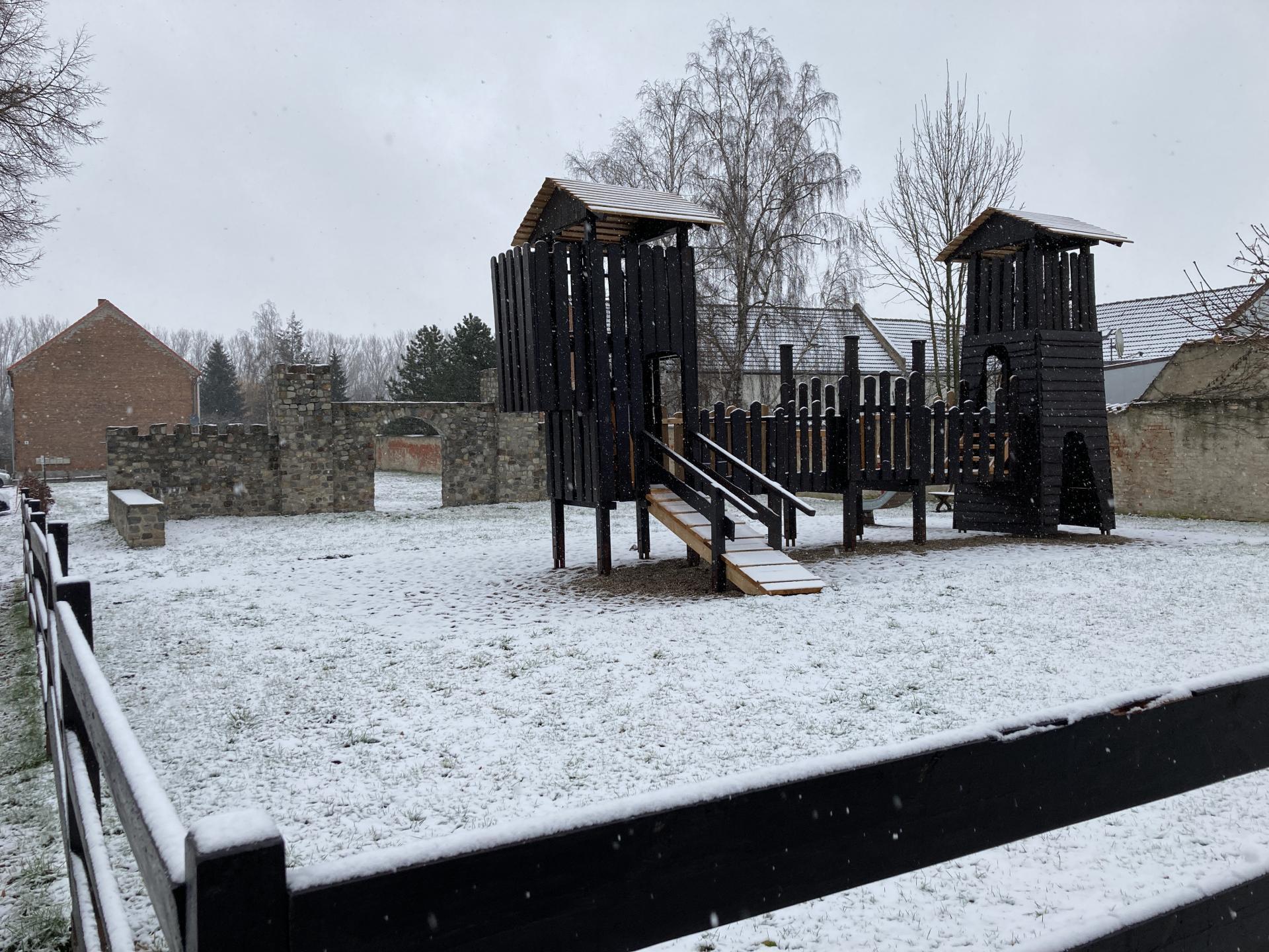 Winterbeginn in Unseburg 2021