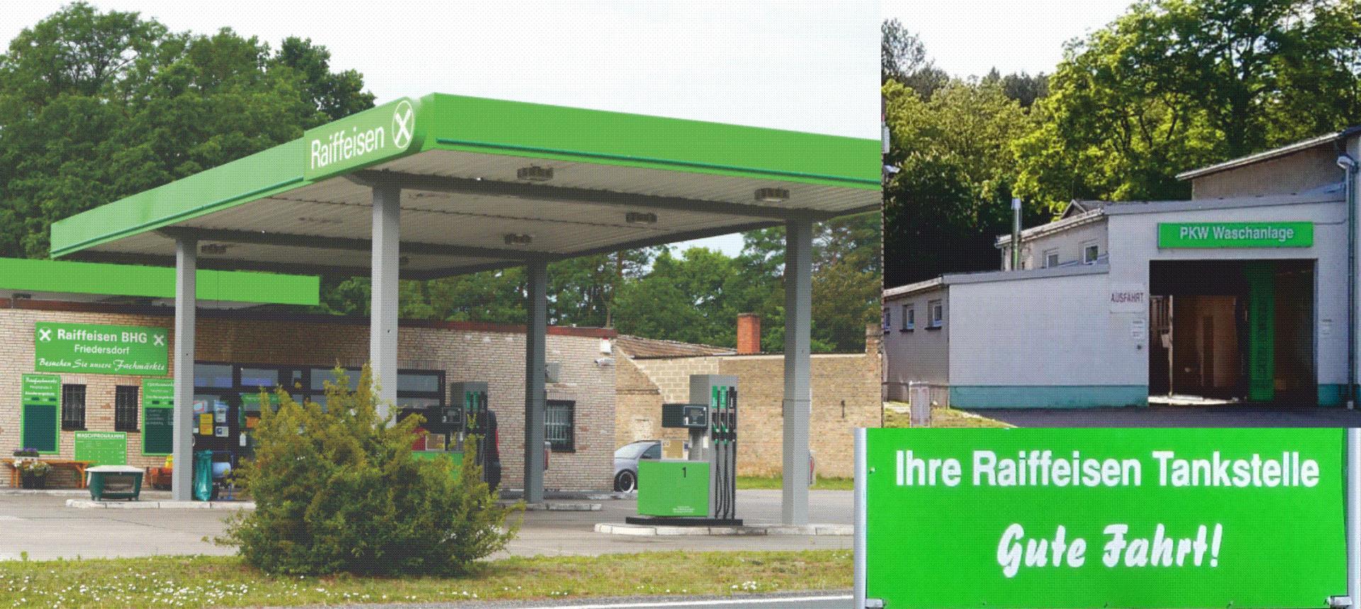 Tankstelle Raiffeisen Genossenschaft Friedersdorf eG
