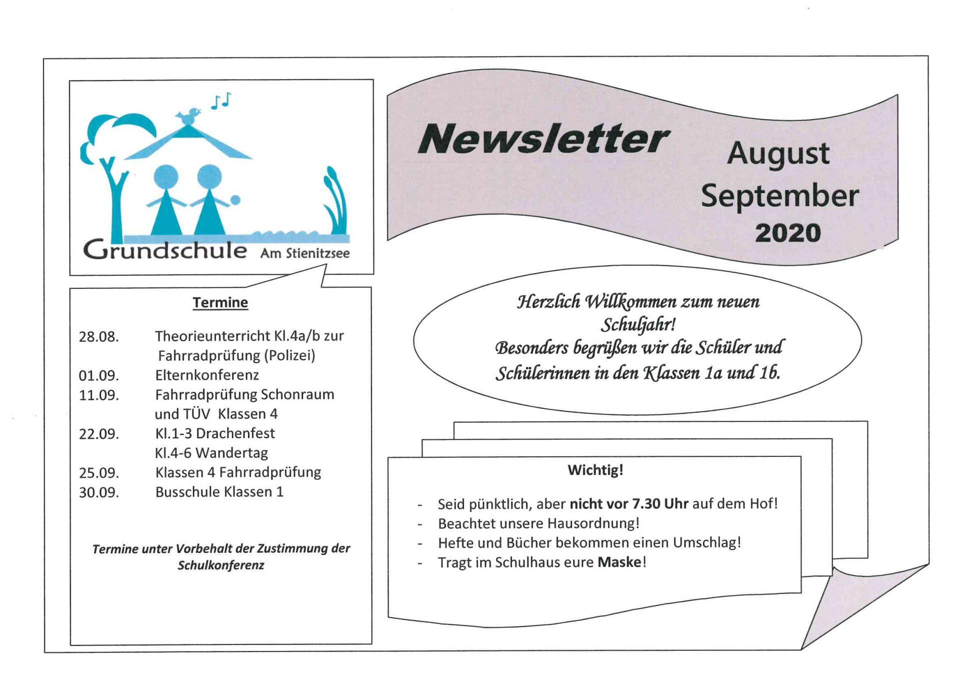 Newsletter August-September2020