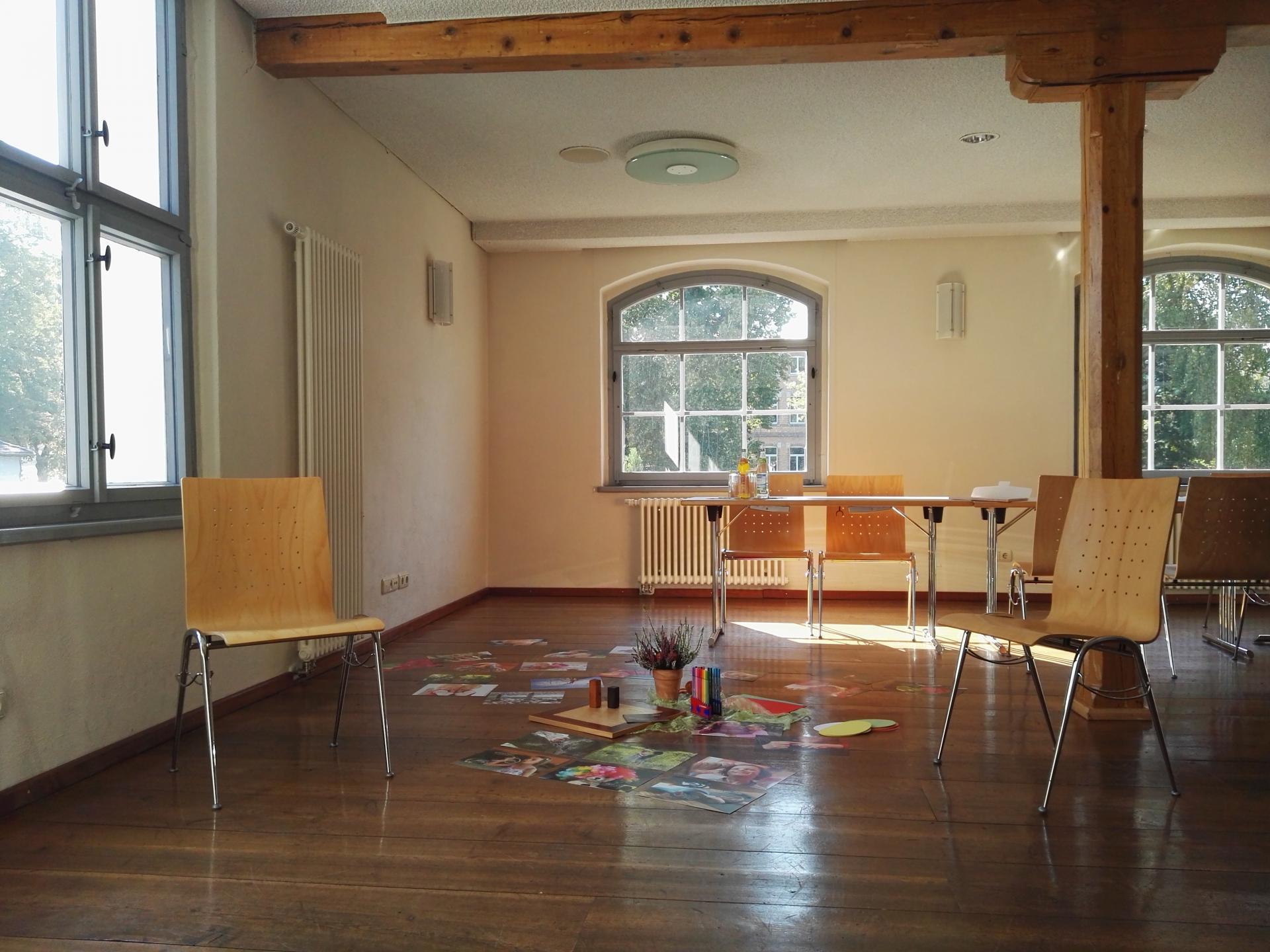 Beratungsraum im Esche-Museum
