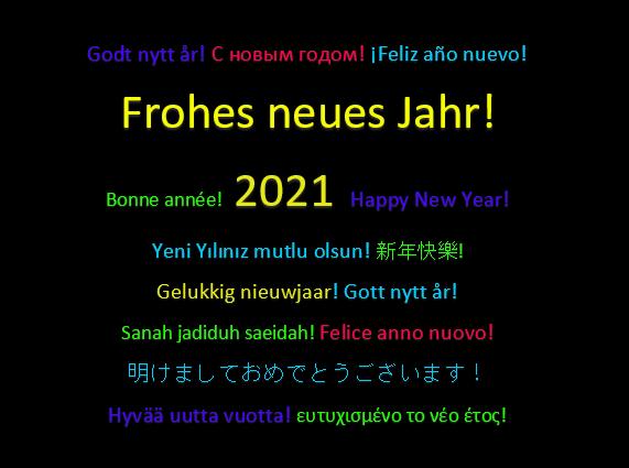 Neujahrsgruß2021