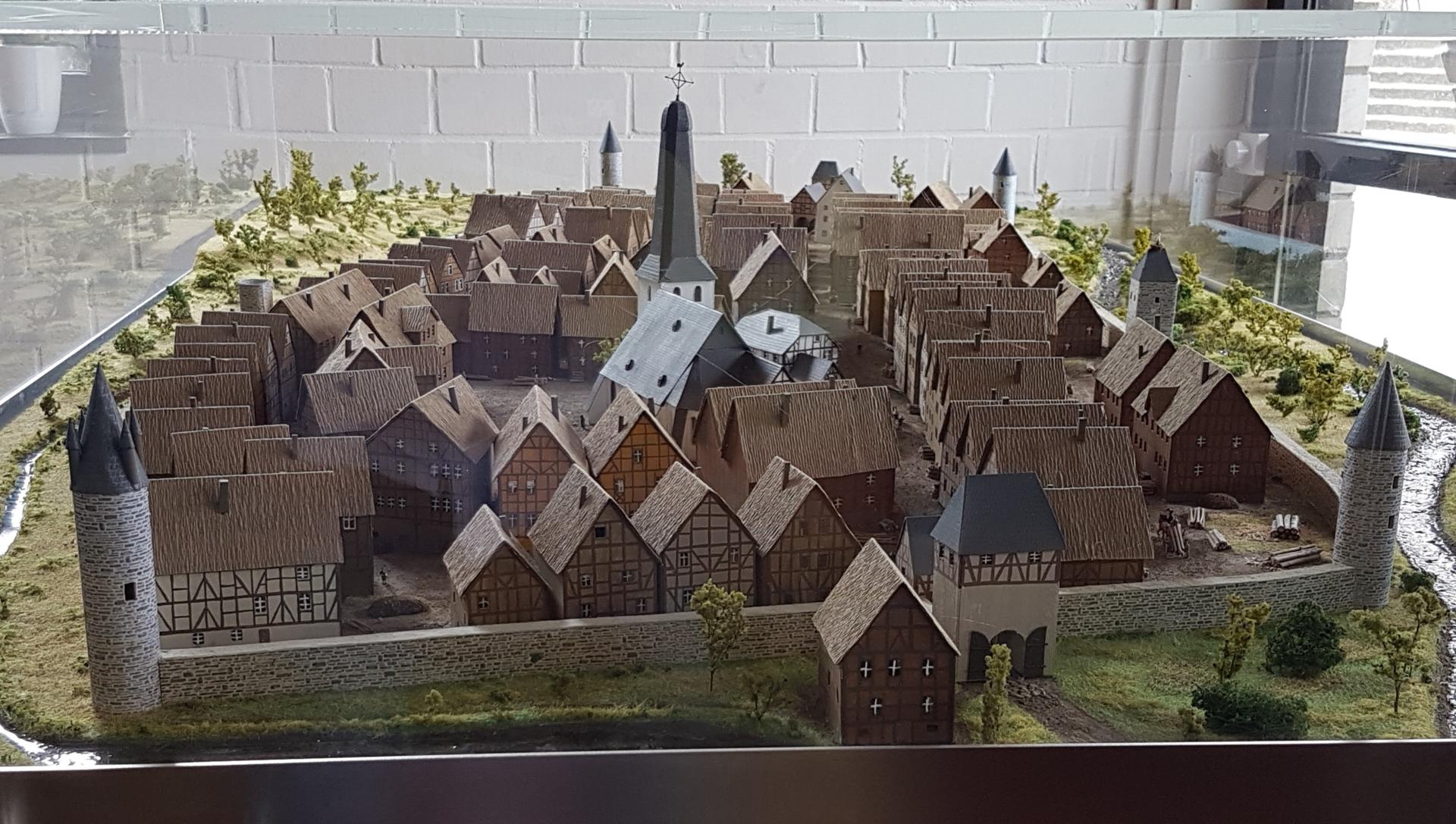 Nachbild der Altstadt Originalgetreu