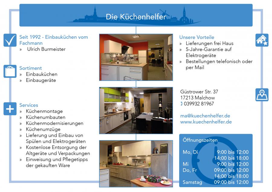 Die Küchenhelfer Malchow