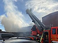 Gebäudebrant 2020