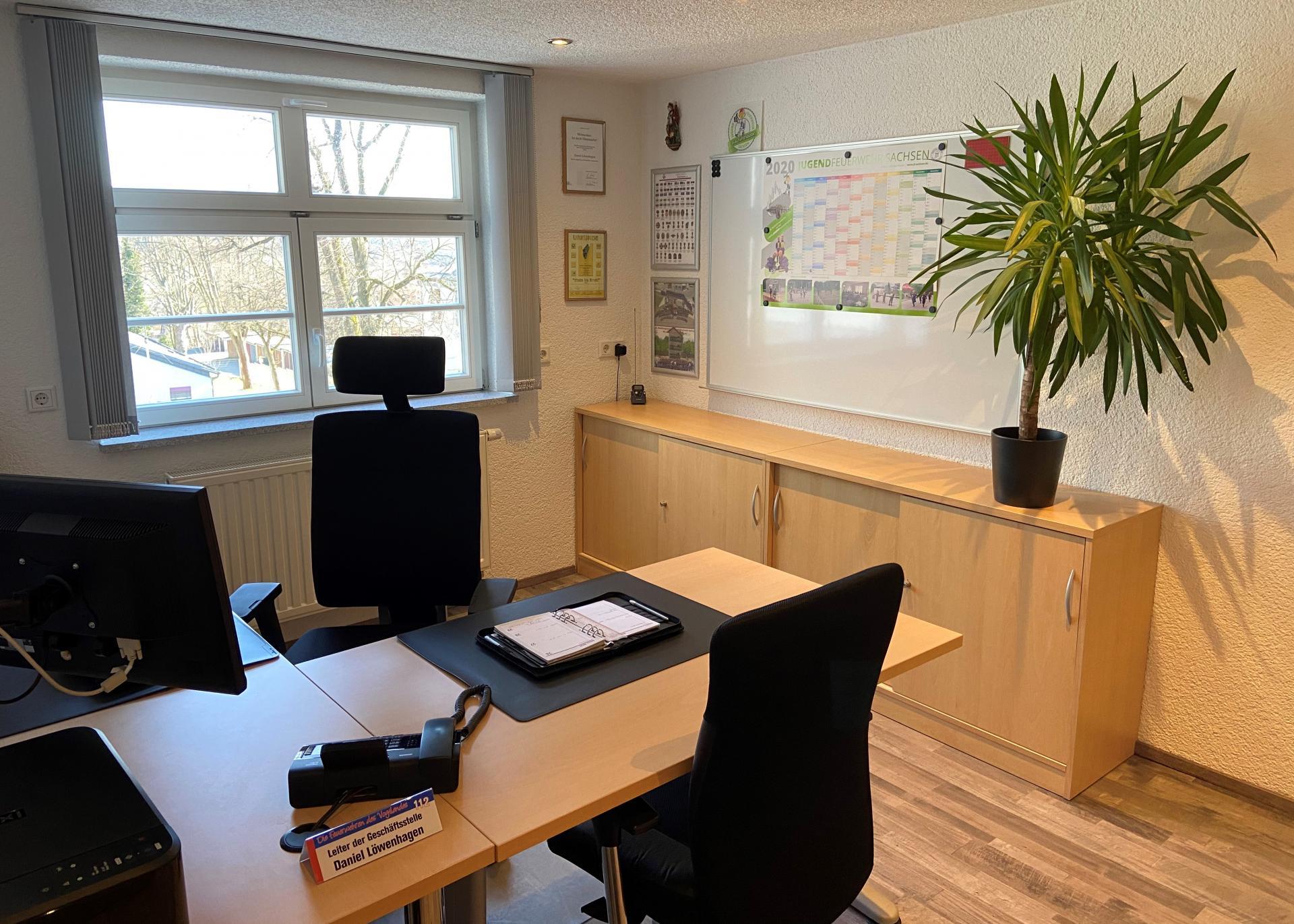 Büro des Leiters der Geschäftsstelle